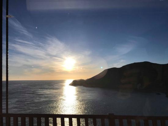 帰りのゴールデンゲートからの景色です。