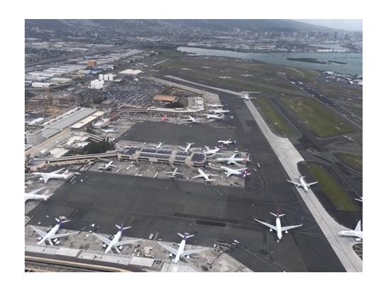 旅客機がたくさん