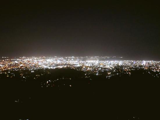 セブシティの夜景