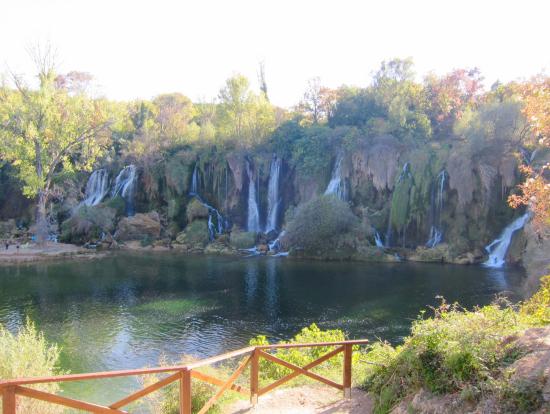 最後に立ち寄ったクラヴィカの滝