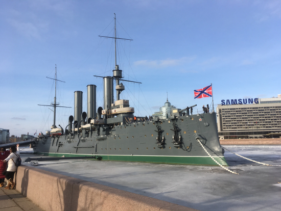 巡洋艦オーロラ