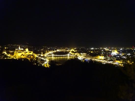ゲッレールトの丘より(夜)