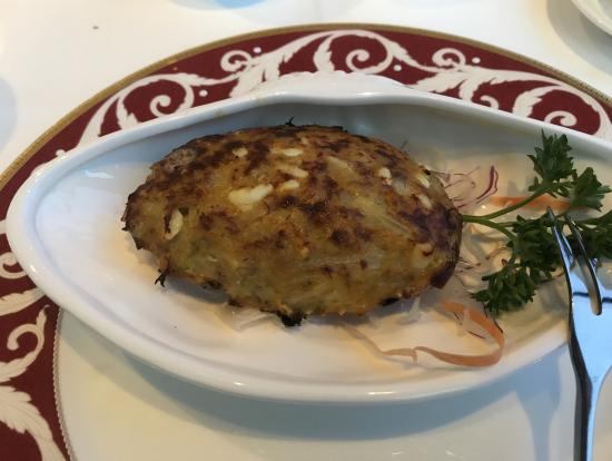 蟹の野菜グラタン