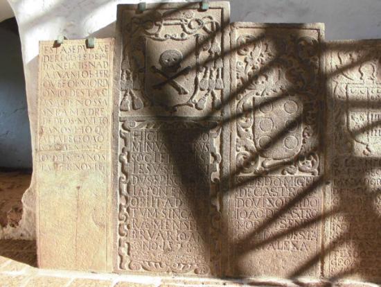 セントポール寺院の侍の墓標