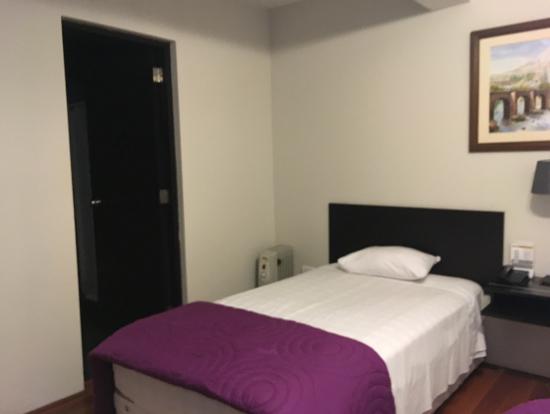 リマのホテル(1番簡素でした)