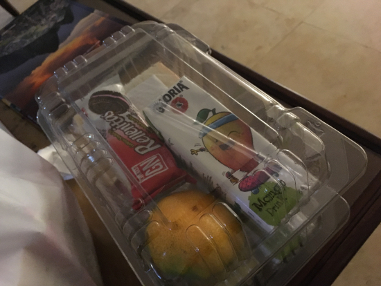 リマの朝食ランチボックス