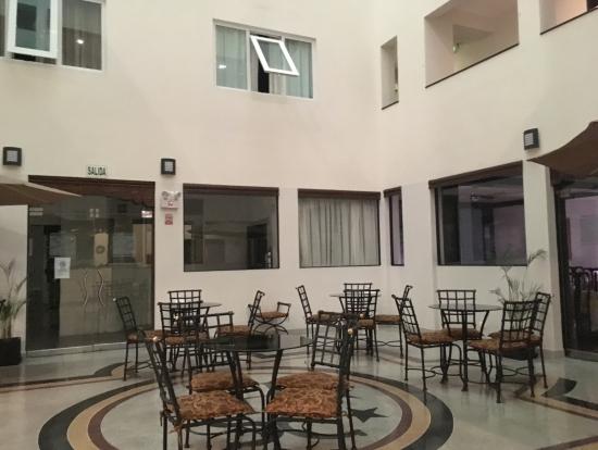 リマのホテルロビー