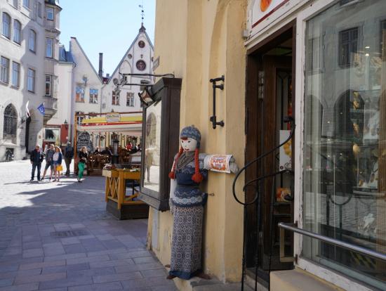 旧市街の中心部