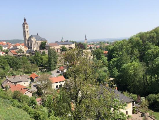 丘の上の教会からの景色