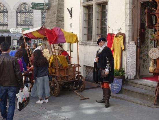 中世のお店