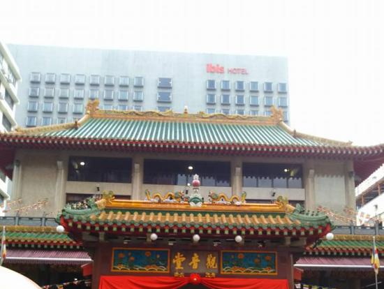 お寺の外観