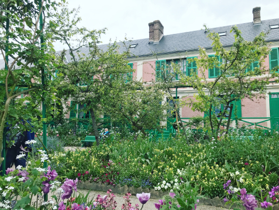 モネの庭と家