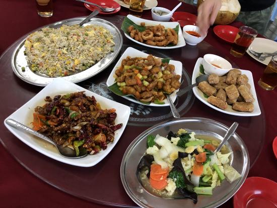 沢山種類があってとても美味しい料理でした。