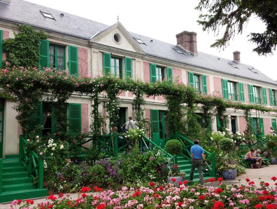 ジヴェルニー花の庭とモネの家