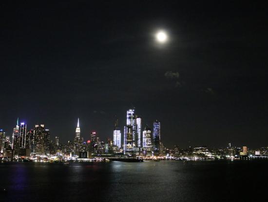 ニュージャージ州からの夜景