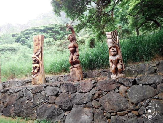 木彫りティキ