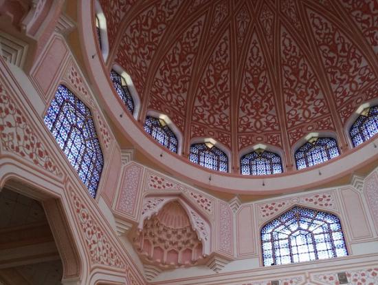 モスクの装飾がとってもきれい