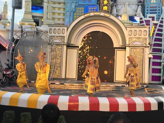 タイの民族舞踊