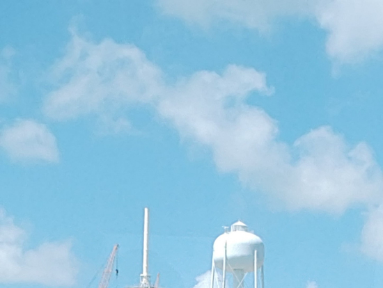 発射台のこんなに近くまで行けるのはクロースアップツアーのみです