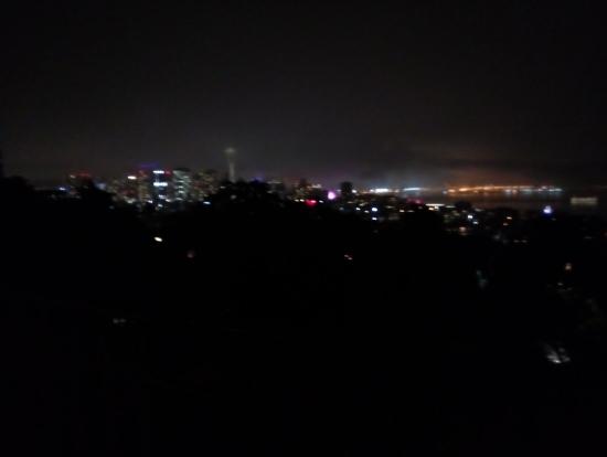 シアトルの夜景。