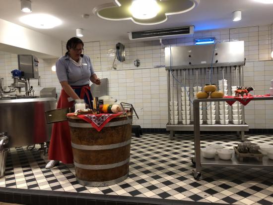フォーレンダムのチーズ工房