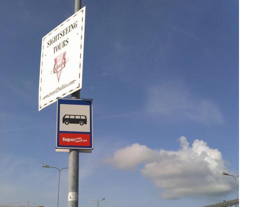 Dターミナルのピックアップポイント