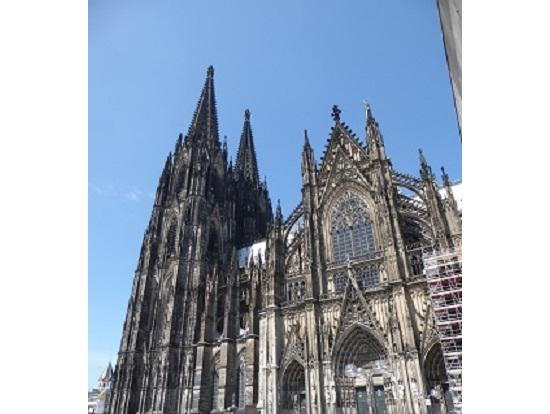 ケルン大聖堂です。