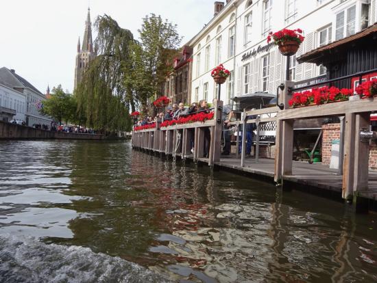 ブルージュの運河ツアー