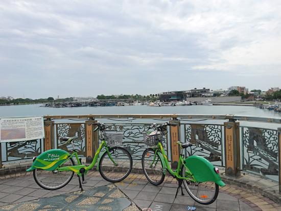 台南観光で活用したT-bike 臺南市公共自行車という台南市のレンタサイクル 自転車