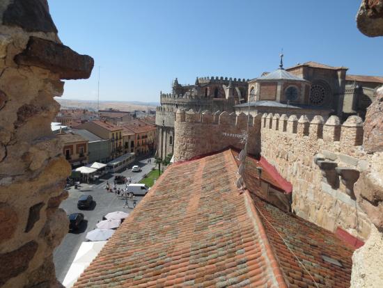 アビラの城壁からの眺め