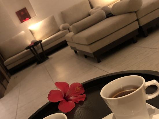 帰りの紅茶サービス