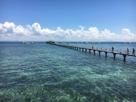 ナルスワン島の桟橋!!