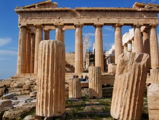 パルテノン神殿東門