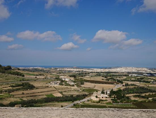イムディーナからの眺め