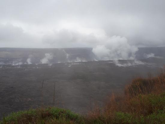 蒸気が至る所から吹き出していました