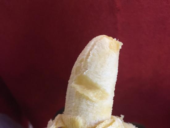 モンキーバナナはちょっと硬目だけど美味しい