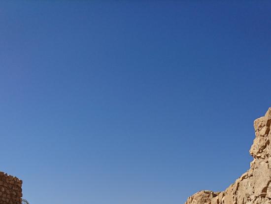 @マサダ要塞  壮大なスケールで感動です