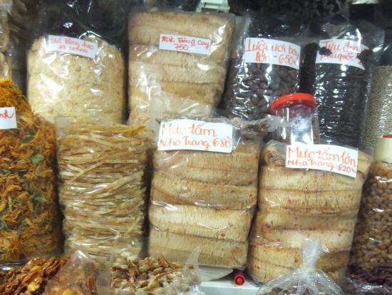 市場のナッツ