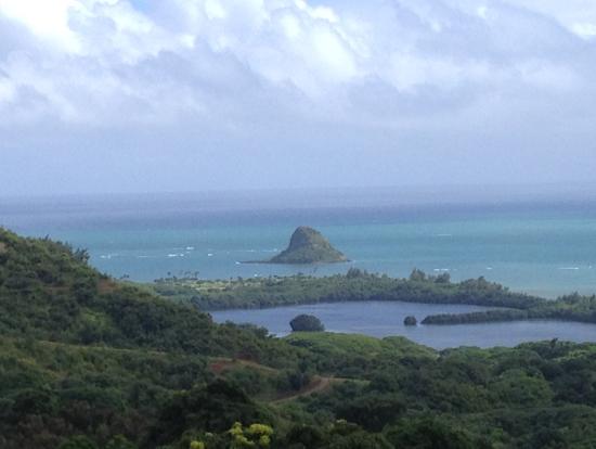 『50回目のファーストキス』で、この島の前で結婚式をしていました。