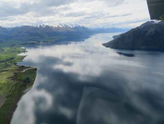 ワカティプ湖です。