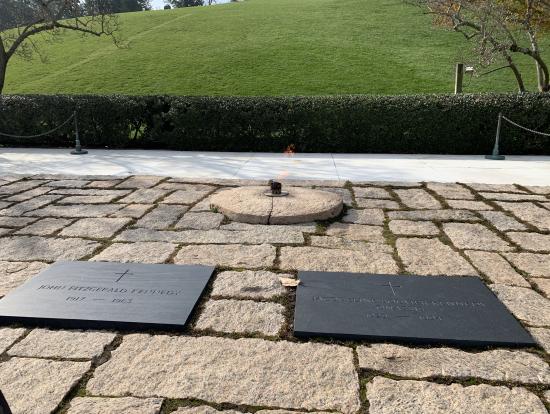 JFK夫妻のお墓