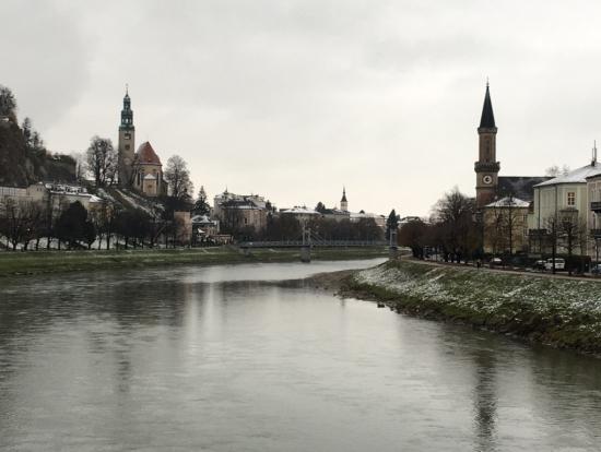 初冬のザルツブルク