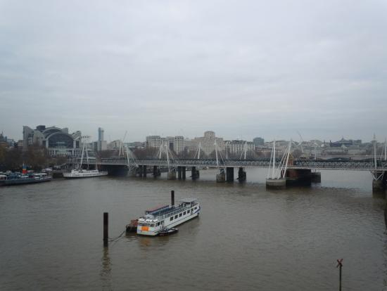ほぼほぼ降りてきたところですが、ロンドンアイからみた景色です。