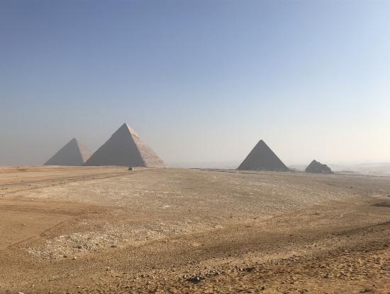ピラミッドは思った以上に大きかった