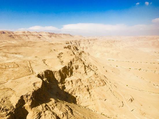 マサダ遺跡からの眺め
