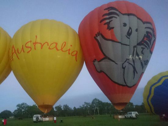 気球乗り場
