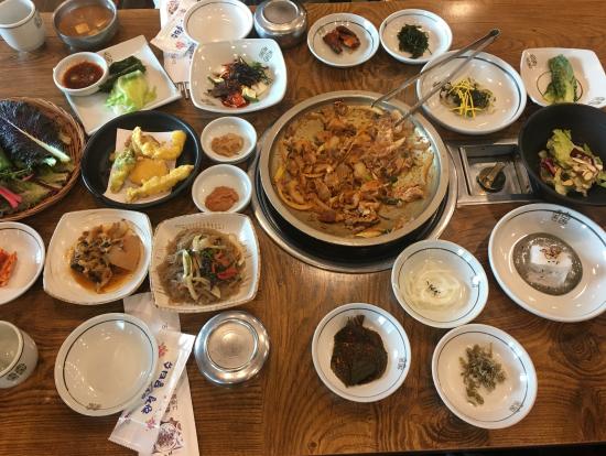 韓定食 ランチ