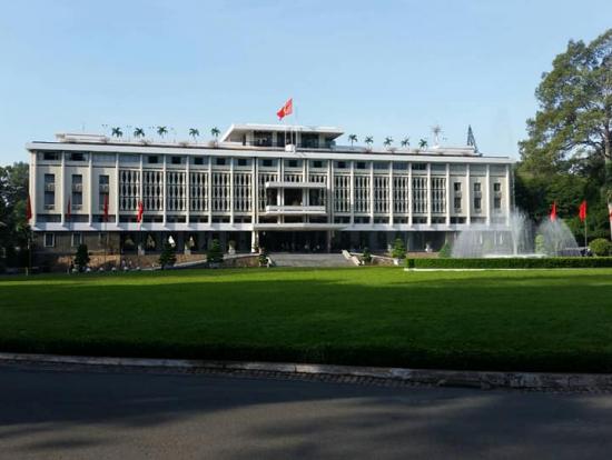 統一会堂:旧南ベトナム時代の大統領官邸