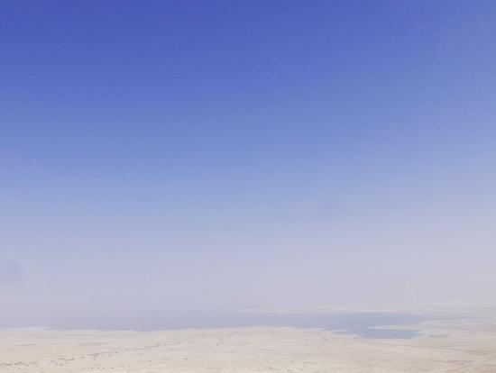 マサダ要塞からの景色