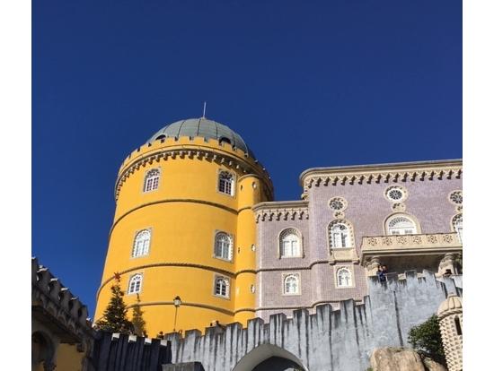 ペーナ宮殿もきれいです